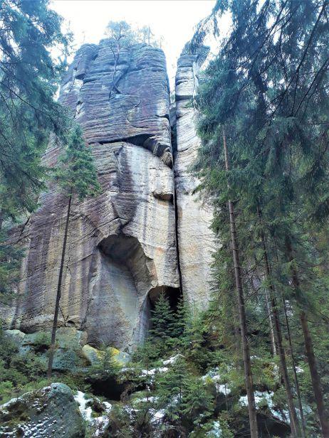 Kletterfelsen, Weckelsdorfer Felsenstadt