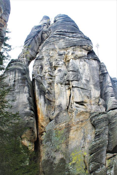 Liebespaar, einer der bekanntesten Kletterfelsen