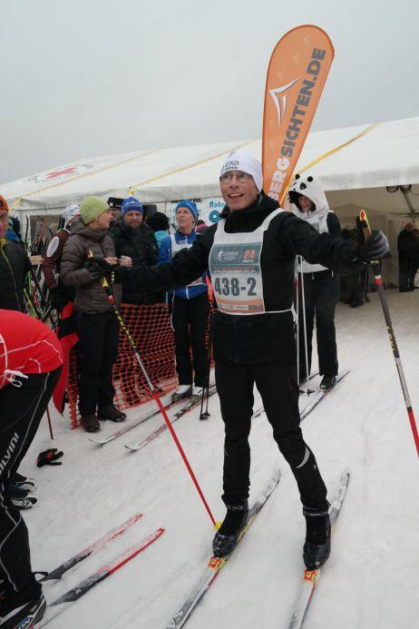 auf skiern