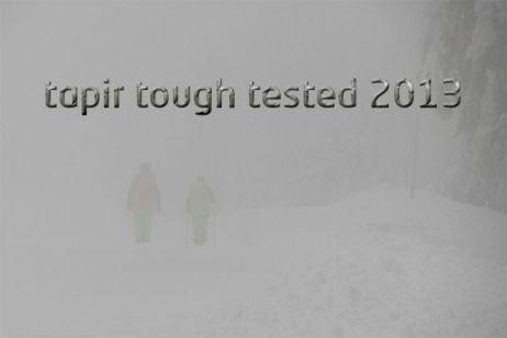 tapir tough tested geht in die nächste Runde: tapire auf Testtour