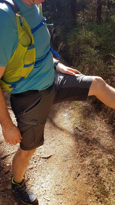 stretch ist gerade beim hoch- und runterlaufen im gebirge angenehm