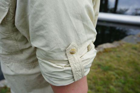 eanes shirt: hochkrempelbare aermel