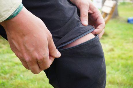 eanes trousers: abzippbar