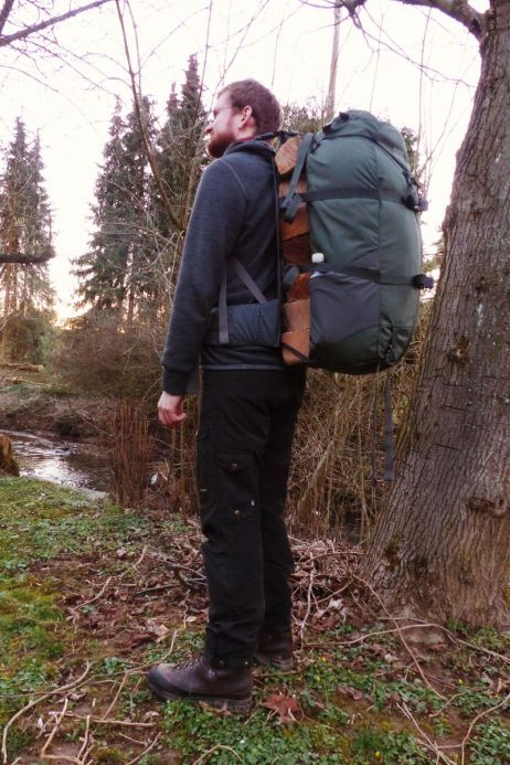 feuerholz-transport mit dem ferraframe