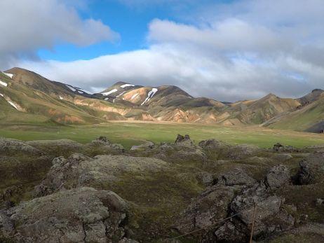 Berge bei Landmannalaugar