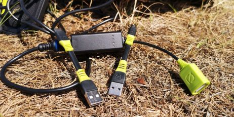 usb-adapter sind beim sherpa 40 micro zu genuege mit dabei