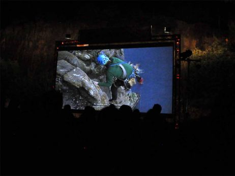 Save the date: 21. Bergfilmnacht am Gaudlitzberg