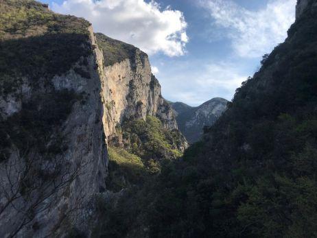 Klettergebiet in Marche