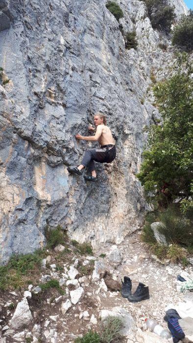 Klettern in Marche