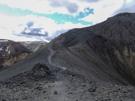 Aufstieg Bláhnúkur - Landmannalagur