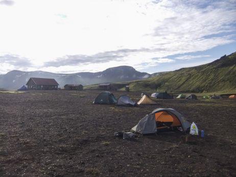 Camp Álftavatn