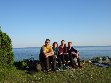 Familien-Radreise durch Estland