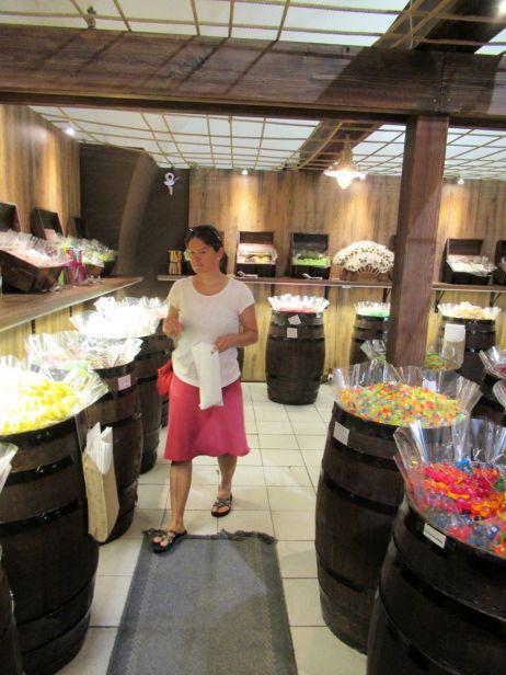 Sandra im Süßigkeitenhimmel
