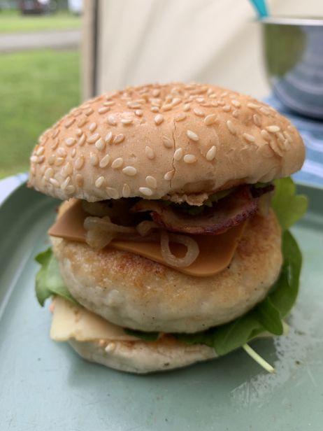 Miniburger mit Fisch-Pattie