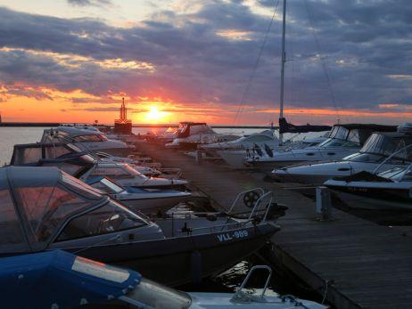 Segelhafen Tallinn, Wettkampfort der Olympischen Sommerspiele 1980 in Moskau