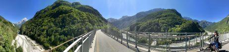 Auf dem Alpa-Adria-Radweg