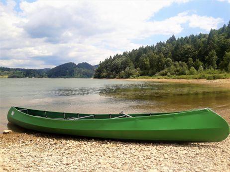 Kanufahren am Stausee Jezioro Czorsztyńskie