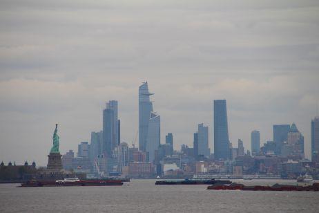 Skyline und Freiheitsstatue