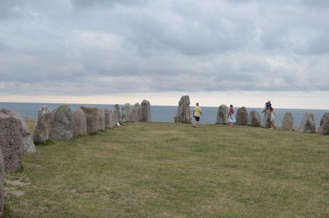Steinmonolithen von Ales stenar
