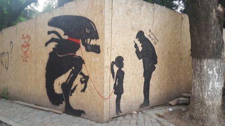 Streetart in Tblisi