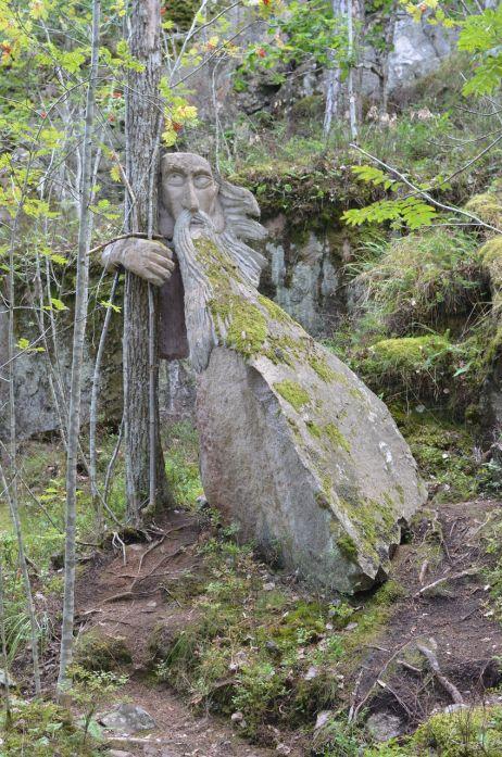 Trollpfad in Gamleby