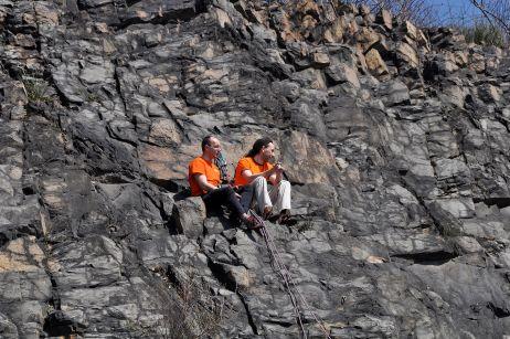 Klettern am Holzberg 2010
