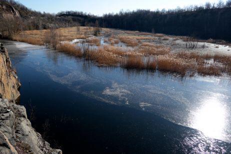 Stand des Wassers im Winter 2019