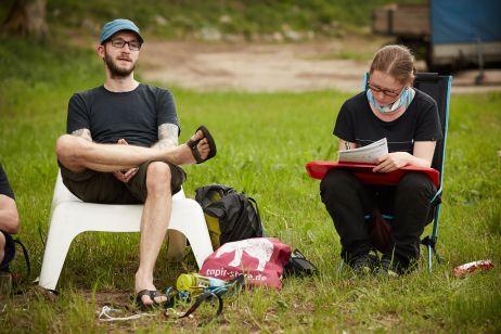 Outdoor Think Tank - tapire unter sich und alles wird protokolliert