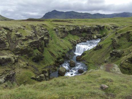 Wasserfall bei Skógar