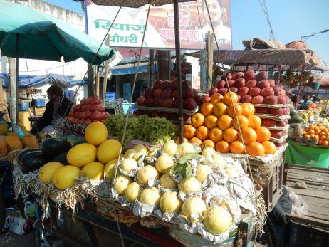 Frisches Obst vom Markt