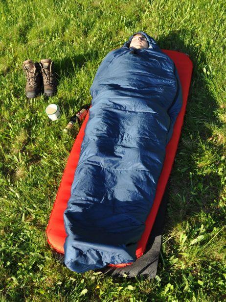 Mountain Equipment Lunar I: Schlafen unter freiem HimmelMountain Equipment Lunar I: Schlafen unter freiem Himmel