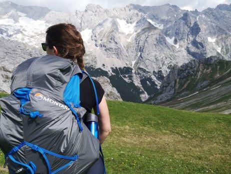 ich beim testen in den bergen :)