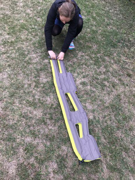 Aufrollen der Inertia X Frame