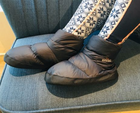 Immer warme Füße: Warmpeace Down Booties