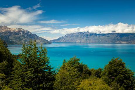 Der unwirklich blaue Lago General Carrera