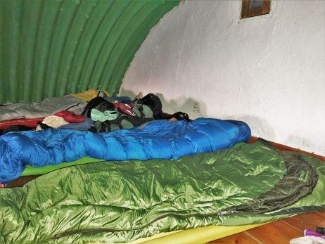 schlafen in spanischen huetten