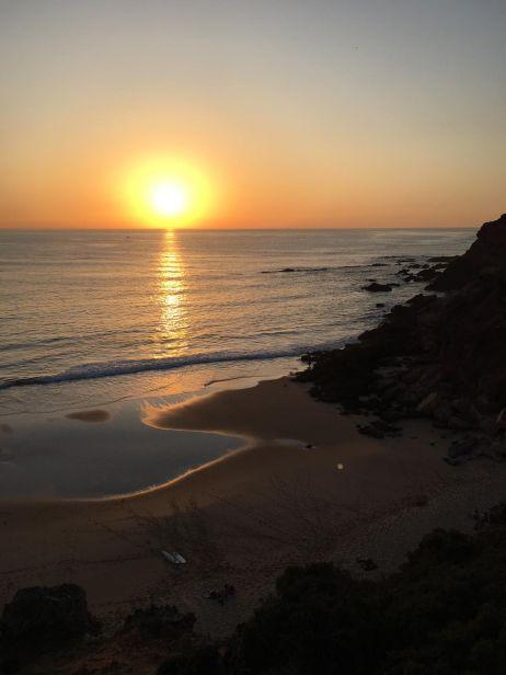 Sonnenuntergang am Cabo de San Vincente