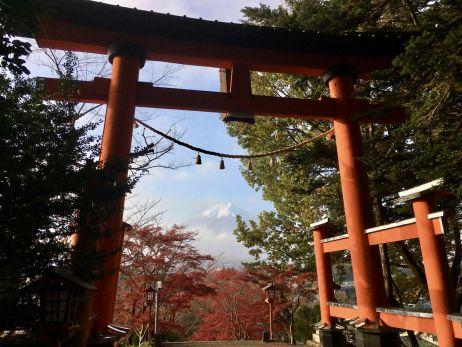Der Fuji-san, wie ihn die Japaner nennen