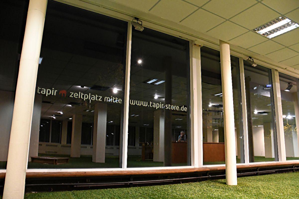 Dein Zeltplatz Mitte in Leipzig | tapir store