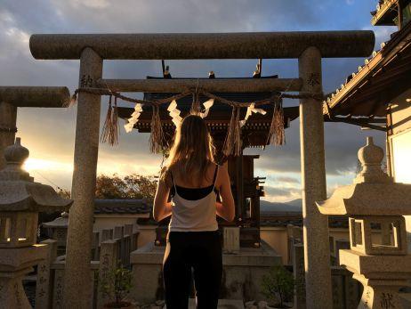 In Japan findet man überall Tempel und Schreine