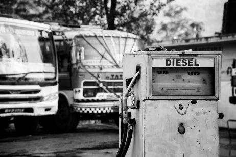Tankstelle Nepal-Style