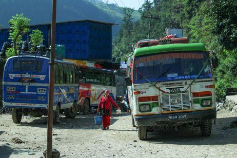 Bus zum Startpunkt