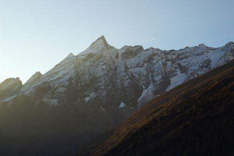 Sonnenaufgang in Samagaun
