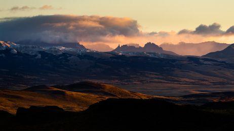 Goldenes Licht im Parque Nacional Torres del Paine