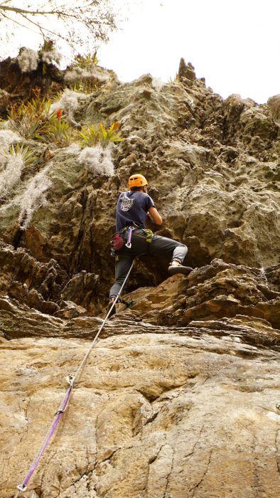 Klettern in Suesca