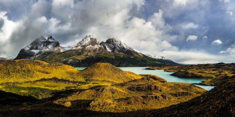 Lago Nordenskjöld im Parque Nacional Torres del Paine