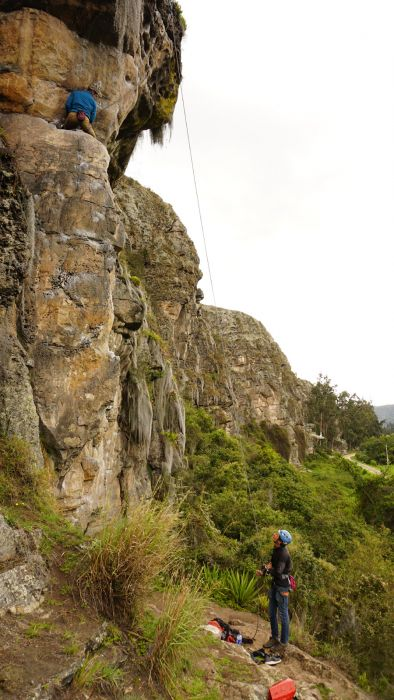 Trad-Klettern Kolumbien