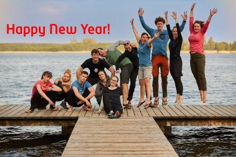 Auf das, was vor uns liegt – Alles Gute für's neue Jahr!