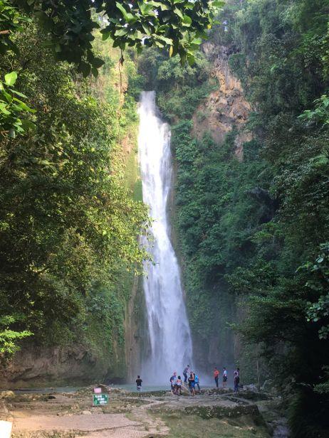 Einer der Mantayupan-Falls
