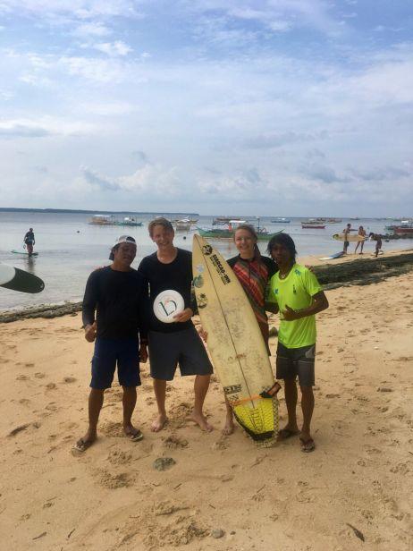 Unsere Surflehrer in Gena Luna